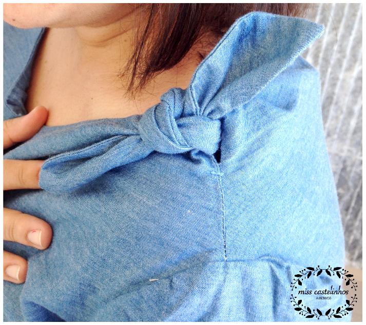 Bateau neck blouse-02