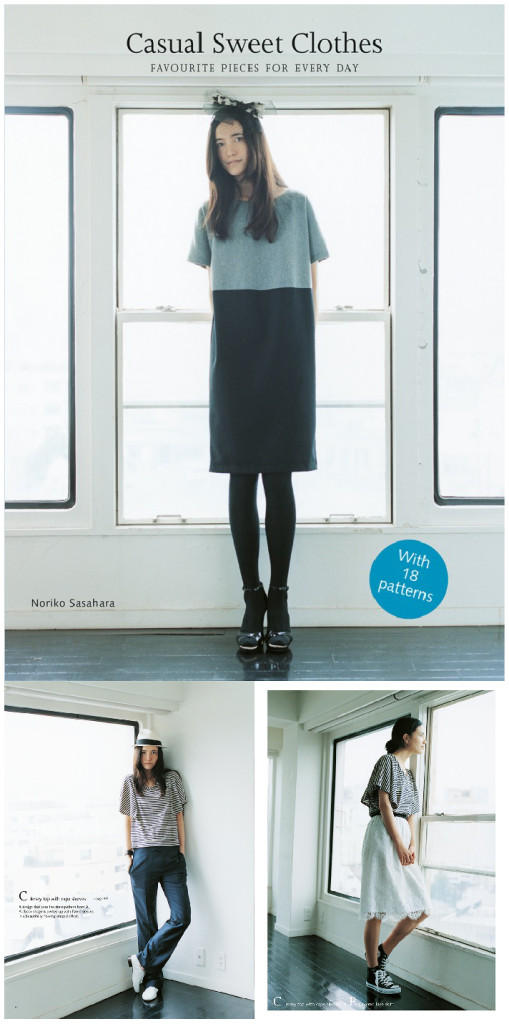 Bateau neck blouse-03