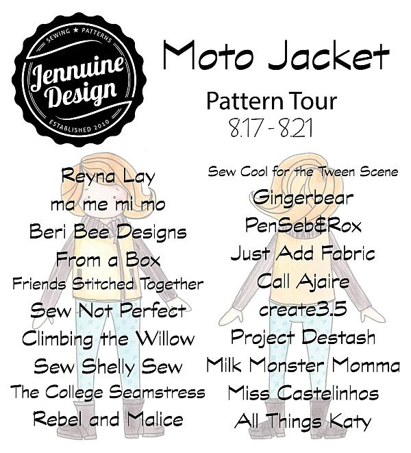 Moto Jacket Tester Tour